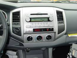 2005 2011 toyota tacoma double cab car audio profile 2014 Toyota Highlander Radio Wiring Diagram factory radio in non jbl system (crutchfield research photo) Toyota Highlander Engine Diagram