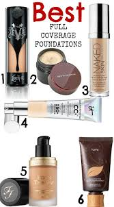 best full coverage foundations all free