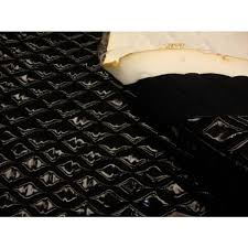 Black Patent Quilted Vinyl fabric with 3/8  Foam Backing Upholstery &  Adamdwight.com