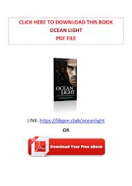 Ocean Light Nalini Singh Read Online Free Ppt Pdf Free Download Ocean Light By Nalini Singh