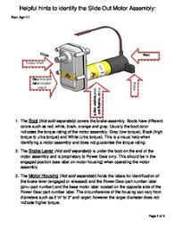 power gear slide out wiring diagram power gear slide out fault Broan F40000 A Switch Wiring Diagram kwikee� slide out system power gear slide out wiring diagram power gear slide out wiring