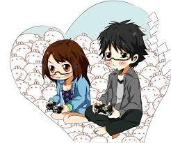 anime love chibi. Plain Chibi Sweet Chibi Couple By OussamaluffyX  In Anime Love Chibi N
