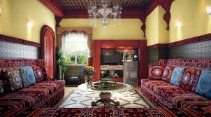 ... Delectable Living Rooms Decorating Ideas With Moroccan Style Sofa :  Delightful Living Rooms Decorating Ideas Using ...