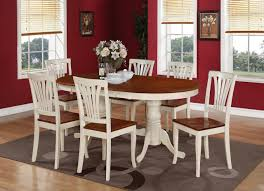 Oval Table Dining Room Sets Oval Kitchen Table With 6 Chairs Best Kitchen Ideas 2017