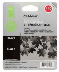 <b>Картридж</b> BLACK 20ML <b>CS</b>-<b>PG440XL CACTUS</b>