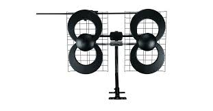 clearstream 4 indoor outdoor hdtv antenna with mount
