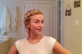 The Best Messy Braid Ever | Short hair styles, Hair styles, Julianne hough  short hair