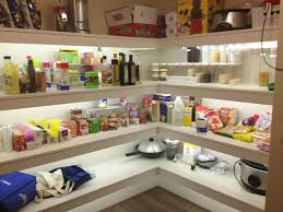 closet lighting led. No More Dark Corners With LED Strip Lights In The Pantry, Linen Closet Or Craft Lighting Led A