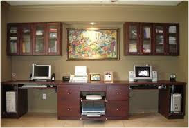 custom home office cabinets. Like Any Other Furniture Product, A Custom Home Office System Comes In Variety Of Materials And Styles, With Price Range Depending On Cabinets