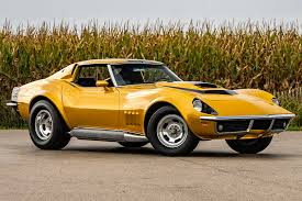 Motioncars Com The Car Chart 1969 Chevy Corvette Baldwin Motion Phase Iii Gt For Auction
