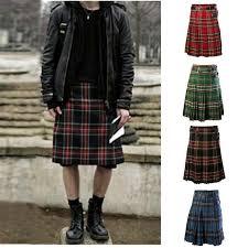 <b>WENYUJH 2019 New</b> Scottish <b>Mens</b> Kilt Traditional Skirt Metal ...