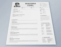 Resume Te Free Indesign Resume Template With Resume Templates Free