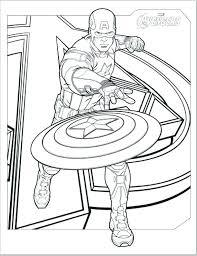 Captain Coloring Pages Winter Soldier Iron Man Coloring Captain