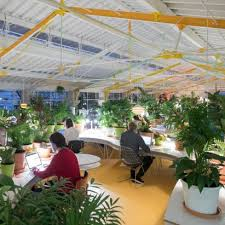 selgas cano architecture office. SelgasCano Completes Plant-filled Co-working Space Inside Lisbon Market Hall For Second Home Selgas Cano Architecture Office C
