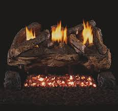 tempco fireplace vent free gas log sets fireplaces