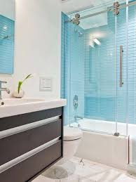 linear blue shower tiles with niche transitional bathroom regarding tile plan furniture ideas and pictures inside
