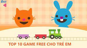 Top 10 game miễn phí hay nhất dành cho trẻ em - Ben Computer