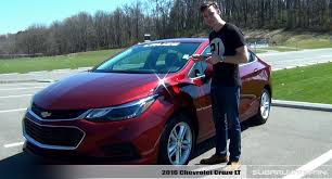 Review: 2016 Chevrolet Cruze LT - YouTube