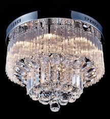 flush mount crystal chandelier. Saint Mossi Chandelier Modern K9 Crystal Raindrop Lighting Flush Mount LED Ceiling Light Fixture Pendant Lamp For Dining Room Bathroom Bedroom H
