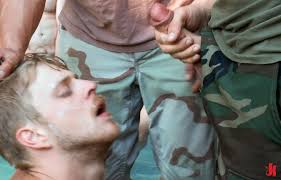 Outdoor male forced fuck