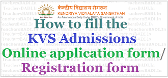 how to fill kvs admissions online application form registration how to fill kvs admissions online application form registration form 2017