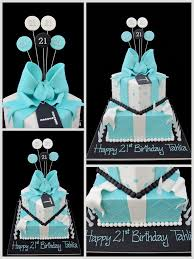 Blue Birthday Cake Designs Baby Blue 21st Birthday Cake