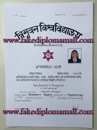 i want to buy a fake diploma tribhuvan university  tribhuvan university degree
