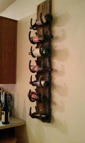 wine rack old barn wood and horse shoes this would be cute as a barn wood ideas barn