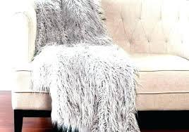 fake sheepskin rug gray faux ikea