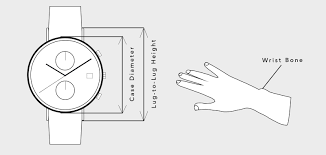 Watch Diameter Chart How Should A Watch Fit How To Measure Wrist For Watch