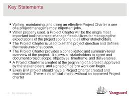 Project Management The Project Charter Ppt Video Online Download