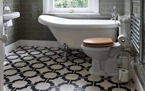 featured floor louise s stylish bathroom with parquet charcoal