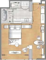 luxury hotel room layout50 room