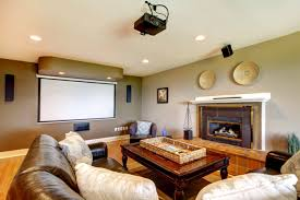 cool home lighting. Cool Home Theatre Lighting Has Projector Screen G
