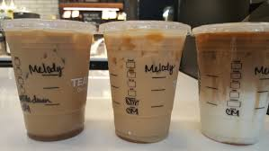 understanding your iced caramel macchiato stirred upside down