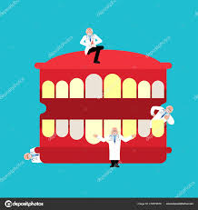 Repairing And Maintenance Repair Maintenance Teeth Doctor Mouth Dentist Service