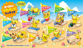 Pokemon Mini Vending Machine Custom Pokemon Center Pikachu Seaside Mini Figures Announced For Japan