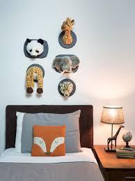 mounted animal heads