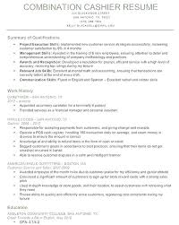 Restaurant Cashier Resume Skills For Cashier Resume Resume Examples