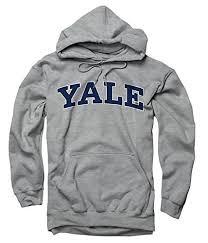 york university hoodie. yale university bulldogs hoodie/hooded sweatshirt grey m york hoodie