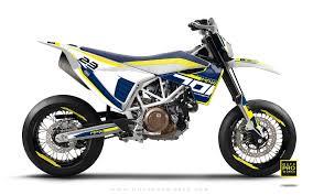 husqvarna 701 graphic kit sevenoh blue white motoproworks