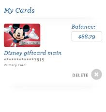 2 of 3 disney gift card 88 79