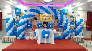simple balloon decoration ideas for birthday party at home best