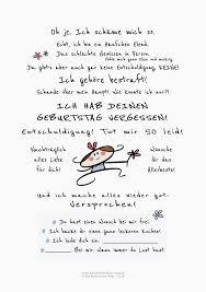 Geburtstag Vergessen Karte Humor Sprüche Happy Birthday