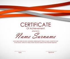 Certificate Background Free Certificate Template Vector For Free Download