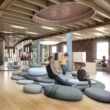 architecture and interior design. Interesting Interior BIG Designs Kindergarten In New York City For WeWork Intended Architecture And Interior Design T