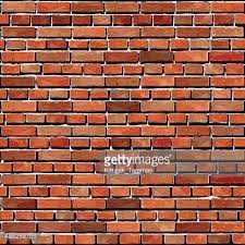 old red brick wall seamless background
