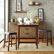 Craftsman Stool And Table Set Amerihome Kitchen Dining Tables Kitchen Dining Room