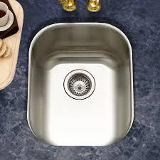 cs 1607 1 club 18 5 l x 15 w undermount large bar sink