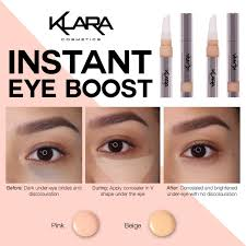 klara s expert tip use a concealer that s slightly lighter than your skin tone to give yourself naturally highlighted skin